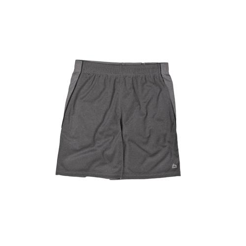 Men's Mesh Heather Knit Shorts, Charcoal,Smoke,Steel, swatch