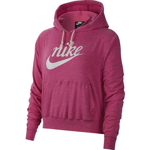 Women's Heritage Gym Vintage Hooded Sweatshirt, Hot Pink,Fuscia,Magenta, swatch