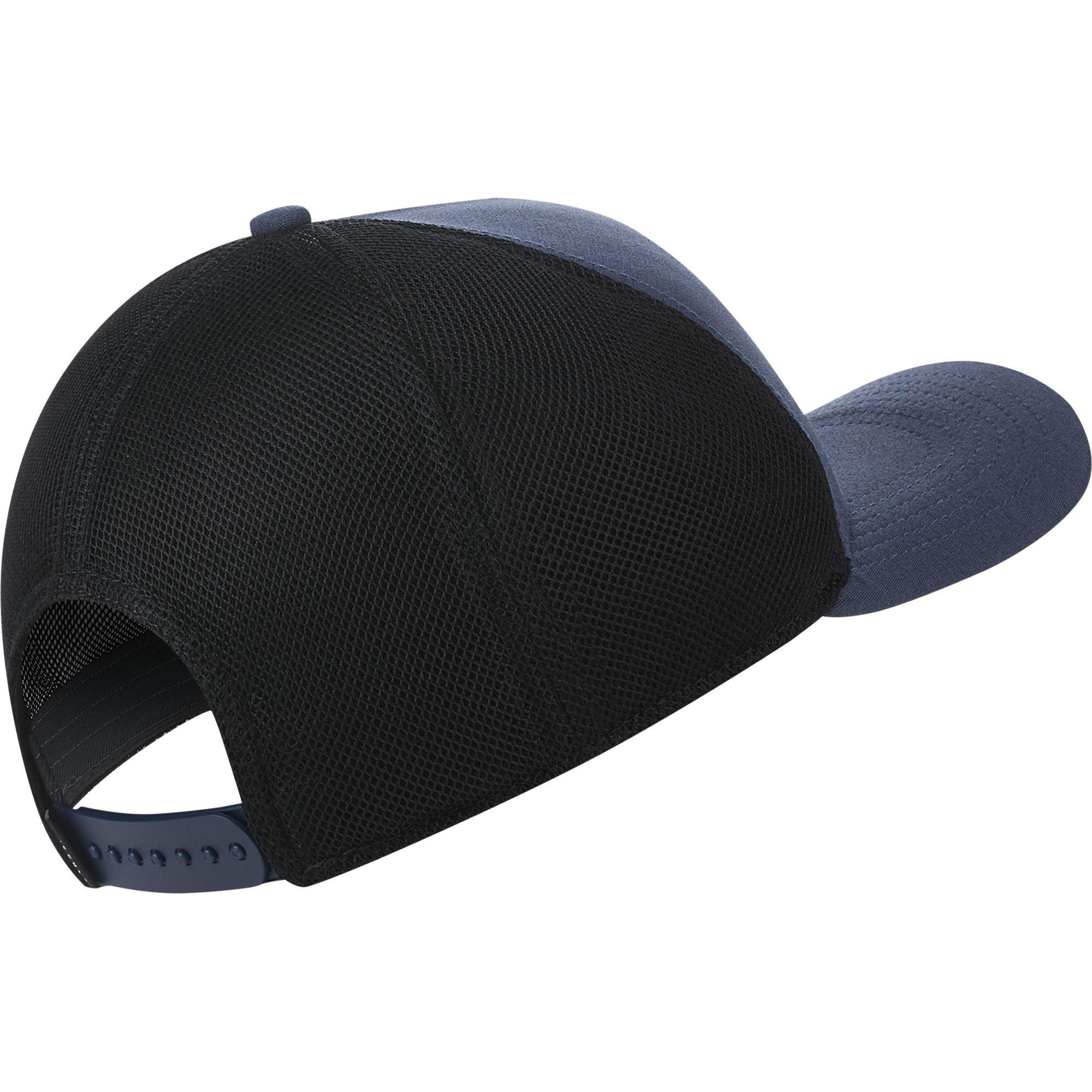 AeroBill Classic99 Mesh Golf Hat, Gray/Black, swatch