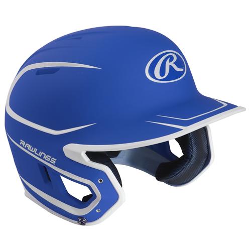 Senior MACH 2-Tone Matte Helmet, Royal Bl,Sapphire,Marine, swatch