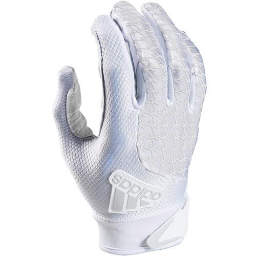 Adifast 2.0 Receiver Gloves, White/White, swatch