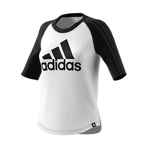 Women's Branded Baseball Tee, White/Black, swatch
