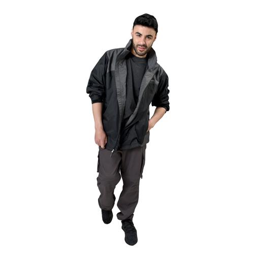 Men's Glenmaker Lake Rain Jacket, Dark Gray,Pewter,Slate, swatch