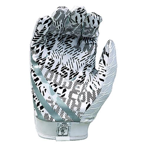 Adizero 4.0 Football Gloves, Black, swatch