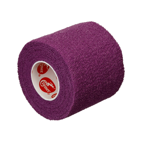 Self-Stick Stretch Athletic Tape, Purple, swatch