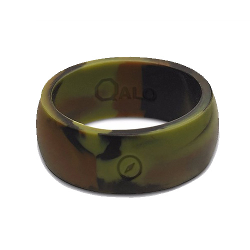 Men's Outdoor Silicone Ring, Camouflage, swatch