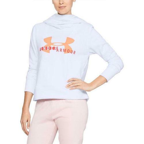 Womens Sportstyle Logo Hoodie, White, swatch