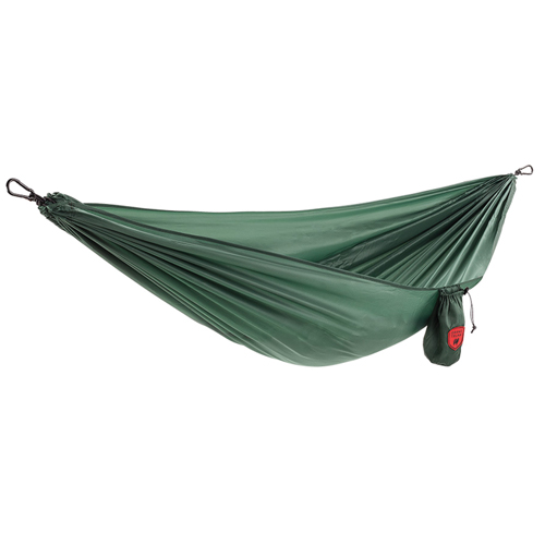 Ultralite Hammock With Carabiner, Green, swatch