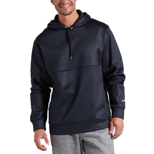 Men's Stack 2.0 Pullover Fleece Hoodie, Navy, swatch