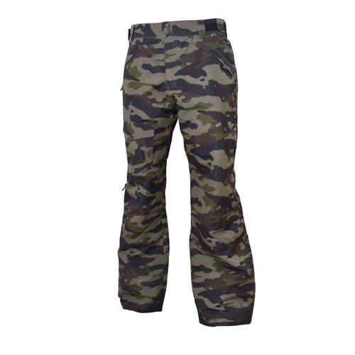 Men's Rider Insulated Ski Pant, Camouflage, swatch