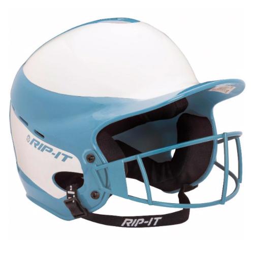 Vision Pro Softball Helmet With Mask, Carolina Blue, swatch