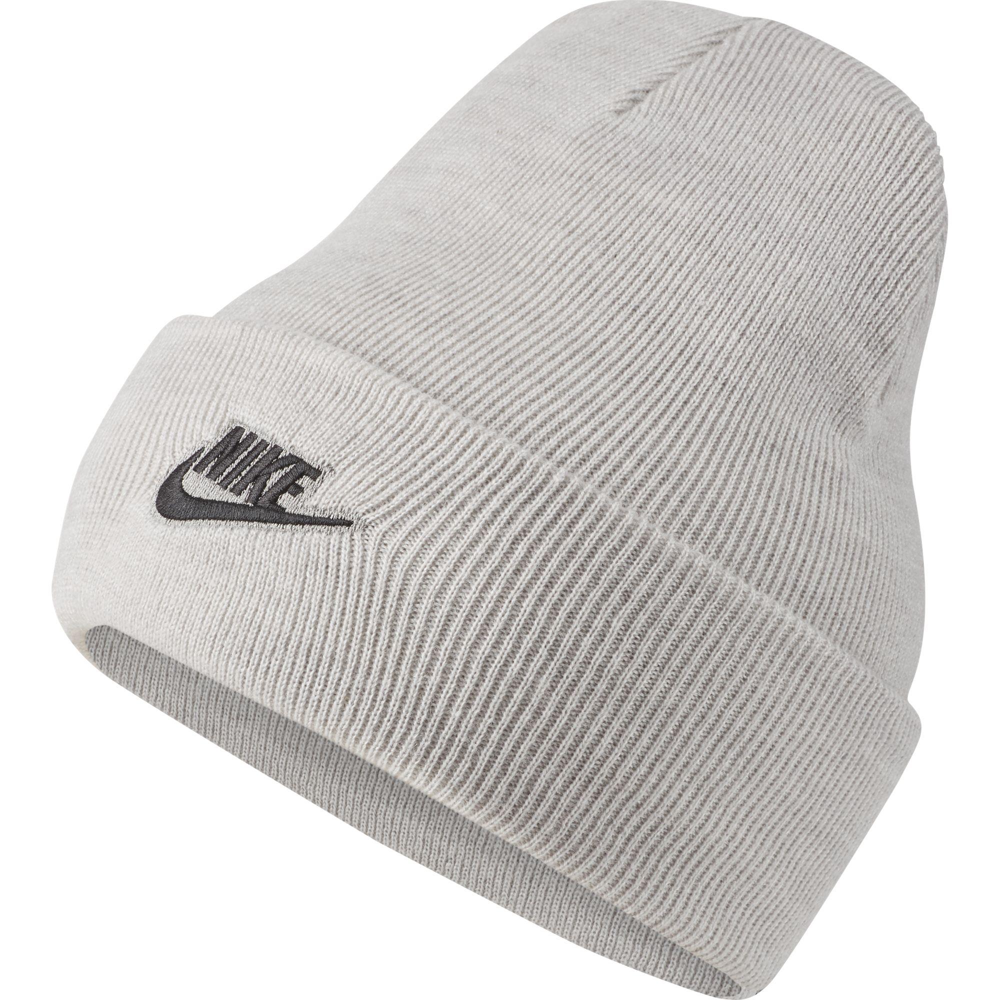 Men's Cuffed Beanie Utility Ski Hat, Heather Gray, swatch