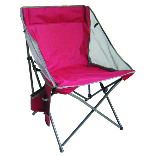 ZIP SQUARE QUAD CHAIR, Red/Gray, swatch