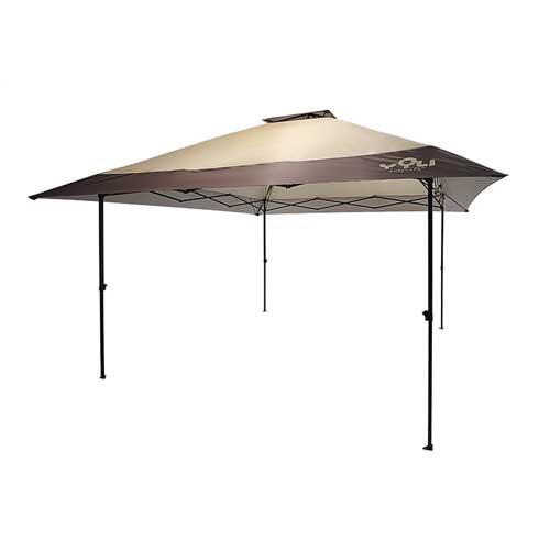 13'X13' Easy Lift Pogoda Canopy, Tan,Beige,Fawn,Khaki, swatch