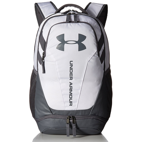 Hustle 3.0 Backpack, White/Gray, swatch