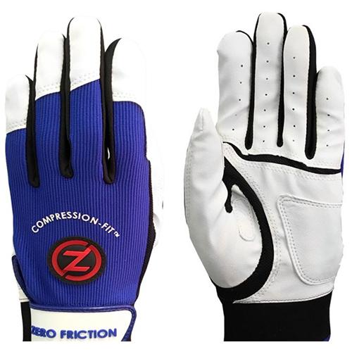 Men's Performance Batting Gloves, Blue, swatch