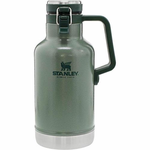 64 oz Vacuum Growler Bottle, Green, swatch