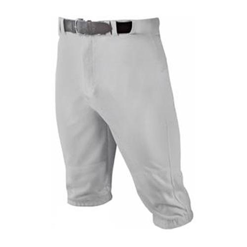 Youth HNR Knicker Baseball Pant, Gray, swatch