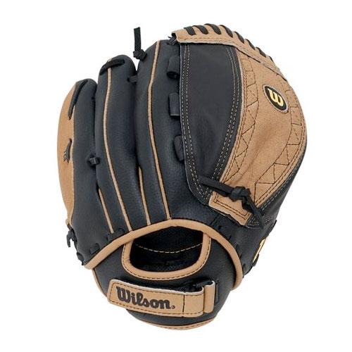 "Youth Fastpitch 11"" A440 Softball Glove, Black, swatch"
