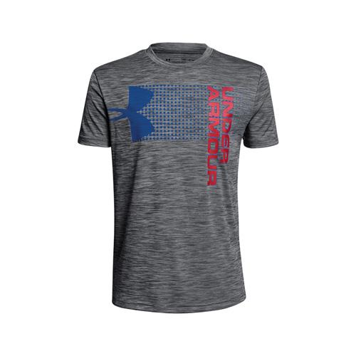 Boys' Crossfade T-Shirt, Heather Gray, swatch
