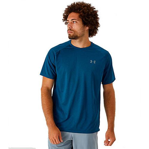 Men's Tech 2.0 Short Sleeve T-Shirt, Green Blue, Teal, swatch