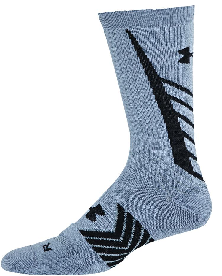 Men's Undeniable All Sport Crew Socks, Black/Royal, swatch