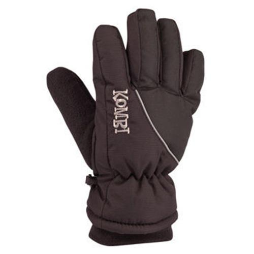 Boys' Snowball Gloves, Black, swatch