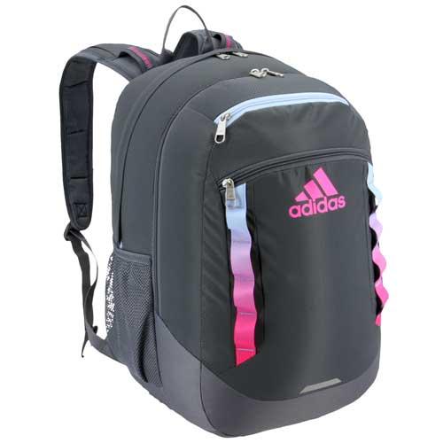 Excel V Backpack, Gray/Pink, swatch