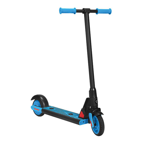 Gks Electric Scooter, Black/Blue, swatch