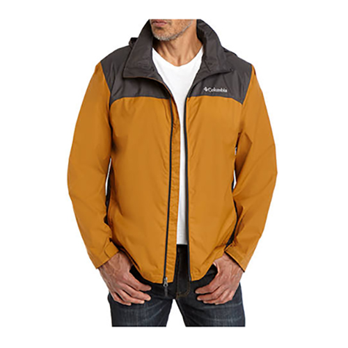 Men's Glennaker Lake Rain Jacket, Gold, Yellow, swatch