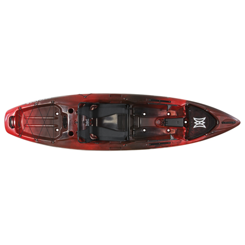 Pescador 10 Pro Angler Kayak, Red/Black, swatch