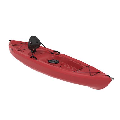 Tamarack Sit-on 10' Kayak, Red, swatch