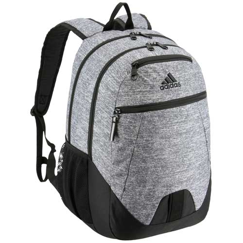 Foundation V Backpack, Heather Gray, swatch