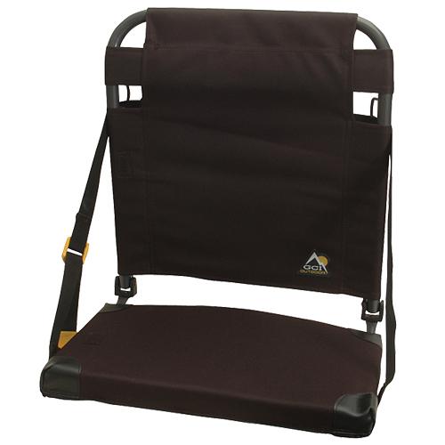 Bleacher Back Stadium Seat, Black, swatch