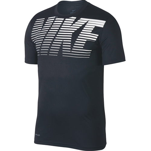 Men's Short Sleeve Legend Gym Dry-Fit Tee, Blue, swatch