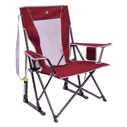 Comfort Pro Rocker Outdoor Chair, Red, swatch