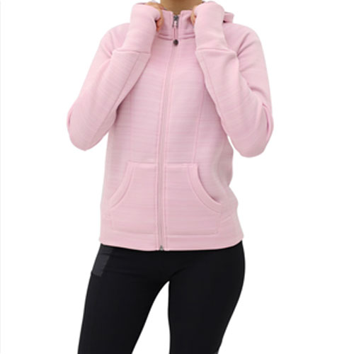 Girl's Fleece Hoodie, Pink, swatch
