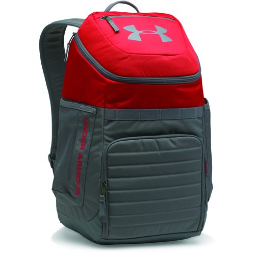 Undeniable 3.0 Backpack, Red/Gray, swatch