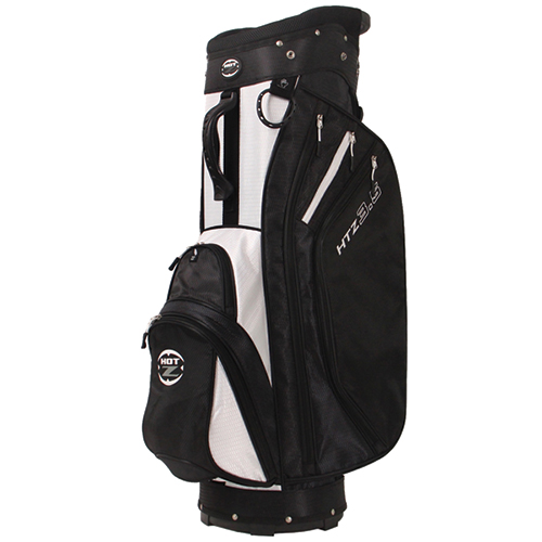 Men's 14 Way Cart Bag, Black/White, swatch