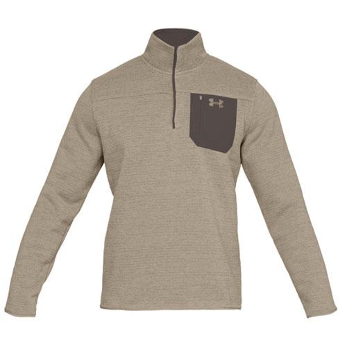 Men's Long Sleeve Specialist Henley 2.0 Fleece, Tan,Beige,Fawn,Khaki, swatch