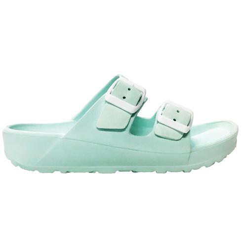Girls' EVA Sandals, Lt Green,Mint,Fern,Seafom, swatch