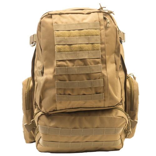 Large 3-Day Tactical Backpack, Tan,Beige,Fawn,Khaki, swatch