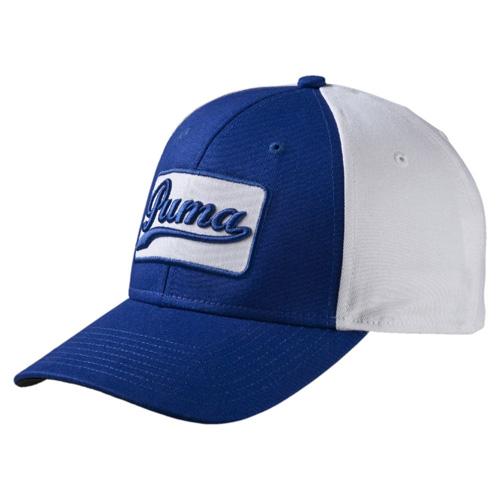 Greenskeeper Adjustable Golf Cap, Blue/White, swatch