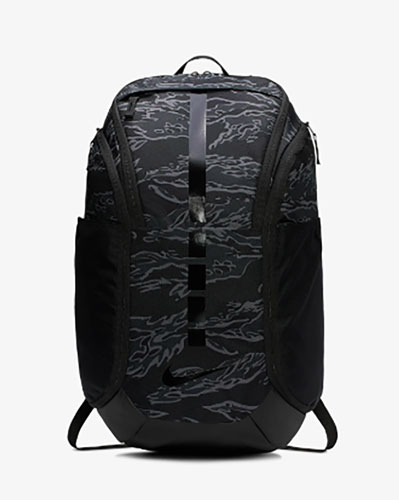Hoops Elite Pro Backpack, Gray Patterned, swatch