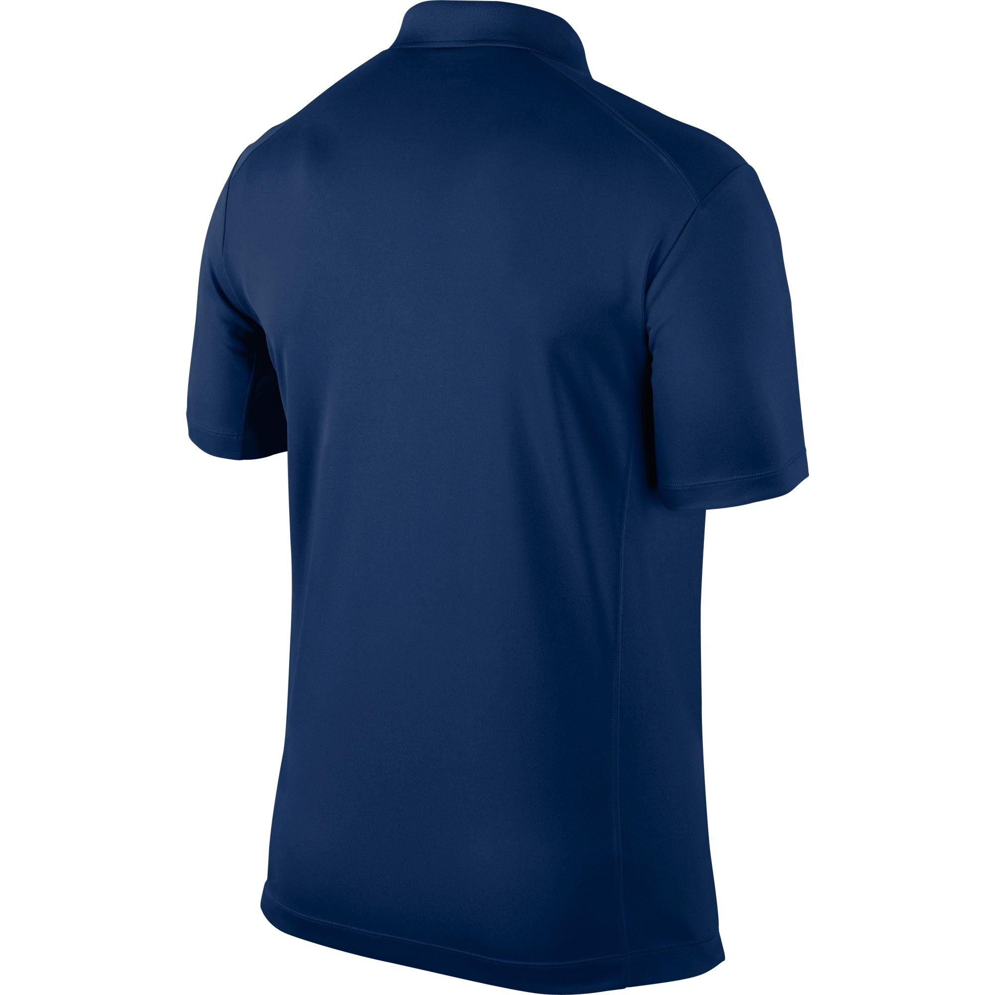 Men's Victory Solid Polo Golf Shirt, Navy, large