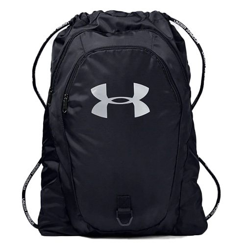 Undeniable Seasonal 2.0 Sackpack, Black Patterned, swatch