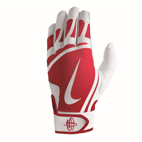 Youth Huarache Edge Batting Glove, Red, swatch