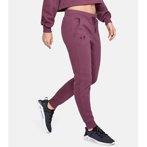 Women's Rival Fleece Sportstyle Graphic Pants, Dk Red,Wine,Ruby,Burgandy, swatch
