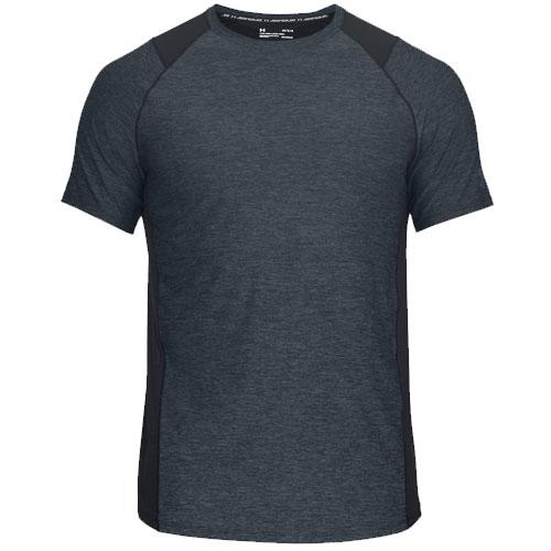Men's Short Sleeve Heathered MK1 Tee, Black, swatch