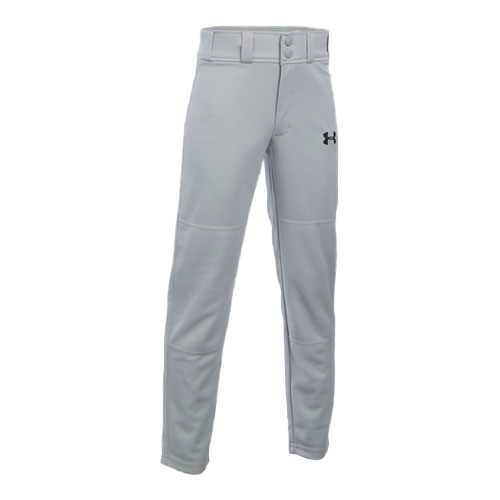 Youth Clean-Up Baseball Pants, Gray, swatch